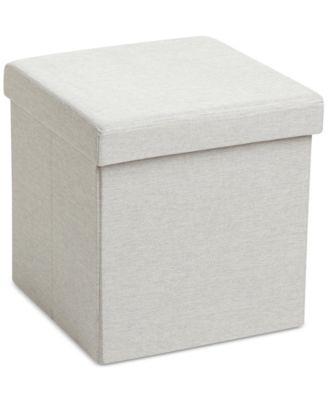 Poppin Storage Box Seat U0026 Ottoman