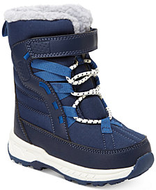 Carter's Basel Faux-Fur Snow Boots, Toddler & Little Boys