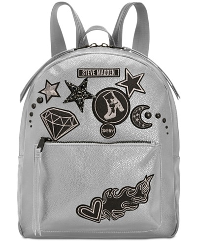 Steve Madden Trudy Backpack with Blackout Patches, a Macy's Exclusive Style