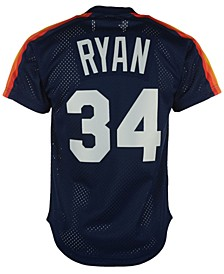 Men's Nolan Ryan Houston Astros Authentic Mesh Batting Practice V-Neck Jersey