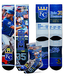 For Bare Feet Eric Hosmer Kansas City Royals Trading Card Player Crew Socks