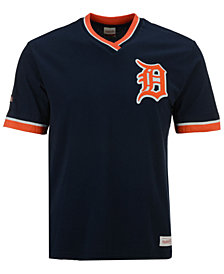 Mitchell & Ness Men's Detroit Tigers Coop Overtime Vintage Top
