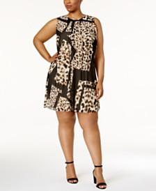 Animal Print Dresses: Shop Animal Print Dresses - Macy\'s