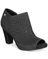 9314bb48d8ea Giani Bernini Angye Memory Foam Perforated Peep-Toe Shooties