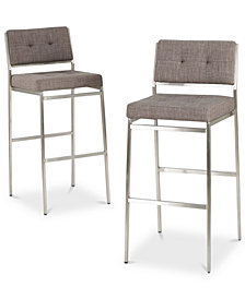 Nolden Bar Stool (Set Of 2), Quick Ship
