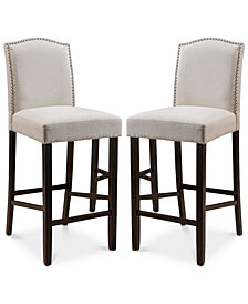 Labar Bar Stool (Set Of 2), Quick Ship