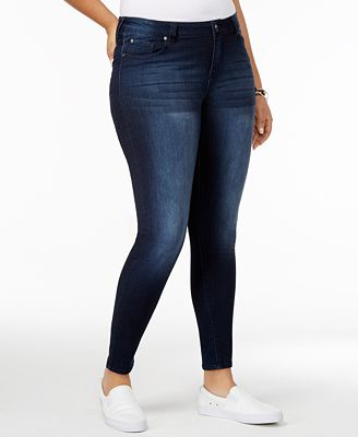 Body Sculpt by Celebrity Pink Trendy Plus Size The Slimmer Skinny Jeans