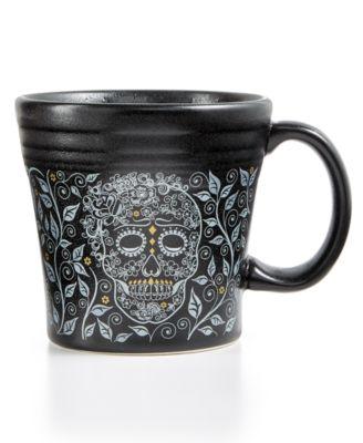 Skull and Vine Tapered Mug