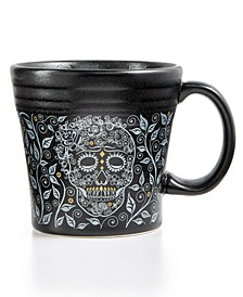 Skull and Vine Tapered Mug