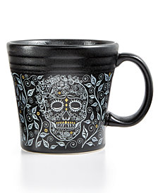 Fiesta Skull and Vine Tapered Mug