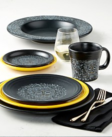 Fiesta Skull and Vine Dinnerware Collection