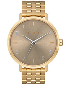 Nixon Women's Stainless Steel Bracelet Watch 38mm