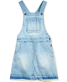 Tommy Hilfiger Big Girls Overall Jumper Dress