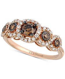 Chocolatier® Diamond Ring (3/4 ct. t.w.) in 14k Rose Gold