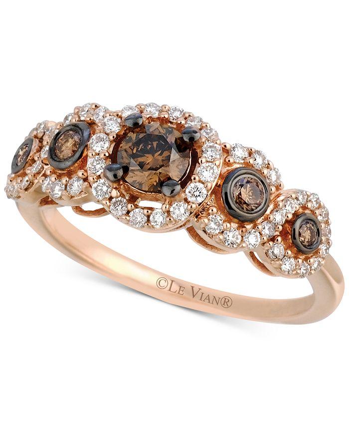 Le Vian - Diamond Ring (3/4 ct. t.w.) in 14k Rose Gold