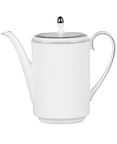 Vera Wang Wedgwood Dinnerware, Grosgrain Coffee Pot