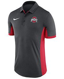 Nike Men's Ohio State Buckeyes Evergreen Polo
