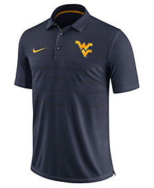 Nike Men's West Virginia Mountaineers Early Season Coach Polo