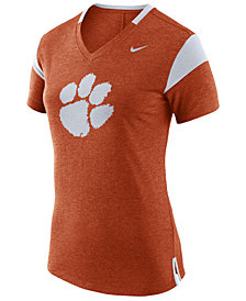 Nike Women's Clemson Tigers Fan V Top T-Shirt
