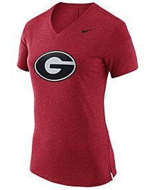 Nike Women's Georgia Bulldogs Fan V Top T-Shirt