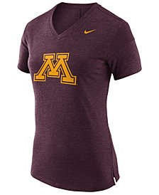 Nike Women's Minnesota Golden Gophers Fan V Top T-Shirt