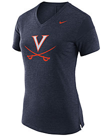 Nike Women's Virginia Cavaliers Fan V Top T-Shirt