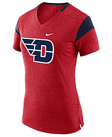 Nike Women's Dayton Flyers Fan V Top T-Shirt