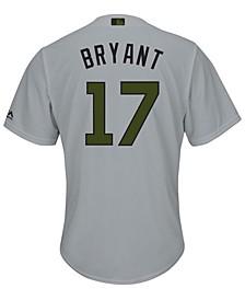 Men's Kris Bryant Chicago Cubs USMC Cool Base Jersey