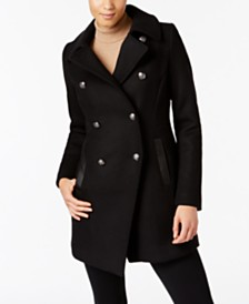 Military Pea Coat: Shop Military Pea Coat - Macy's