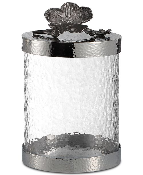 Michael Aram Black Orchid Extra Small Canister