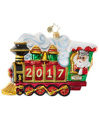 Christopher Radko All Aboard! 2017 Ornament