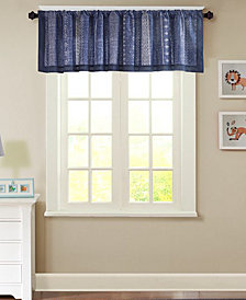 "INK+IVY Kids' Oliver 50"" x 18"" Cotton Window Valance"
