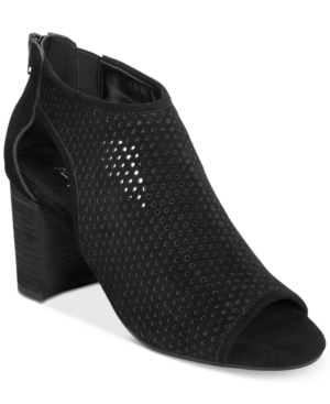 UPC 737280678925 product image for Aerosoles High Frequency Peep-Toe Booties Women's Shoes | upcitemdb.com