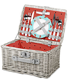Picnic Time Watermelon Catalina Picnic Basket