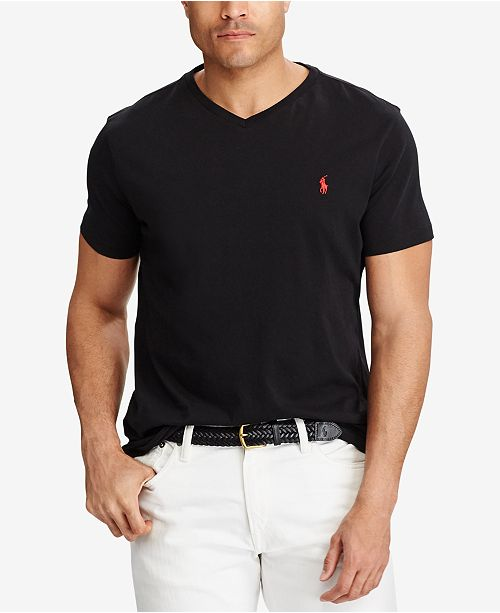Polo Ralph Lauren Men's Big and Tall Classic-Fit V-Neck ...