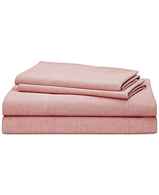 Lauren Ralph Lauren Graydon SoftWeave 144, 4-Pc. King Sheet Set