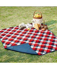 "Madison Park Reversible 50"" x 60"" Picnic Blanket Collection"