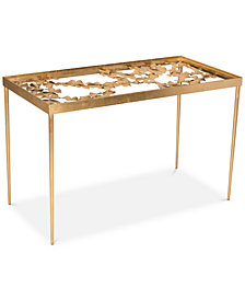 Otto Ginkgo Leaf Desk, Quick Ship