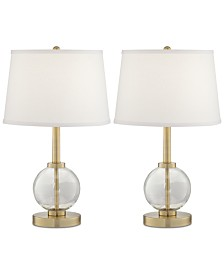 Pacific Coast Set of 2 Nylee Table Lamps