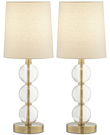 Pacific Coast Set of 2 Preslie Table Lamps