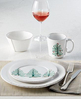 Vietri Lastra Holiday Dinnerware Collection Amp Reviews