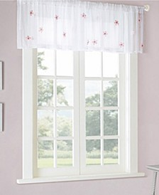 "Lily 52"" x 18"" Sheer Valance"
