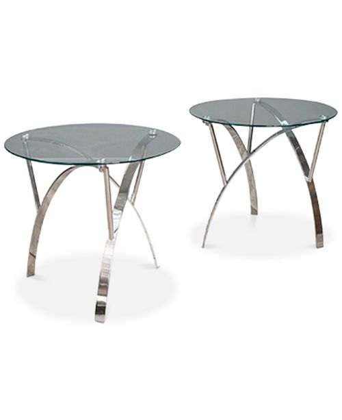 Noble House Zylan End Table Set Of 2, Quick Ship