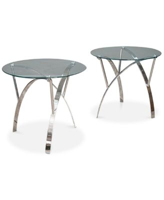 main image; main image ...  sc 1 st  Macyu0027s & Furniture Zylan End Table Set Of 2 Quick Ship - Furniture - Macyu0027s
