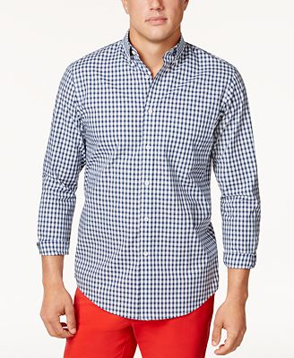 Club Room Men's Gingham Shirt, Created for