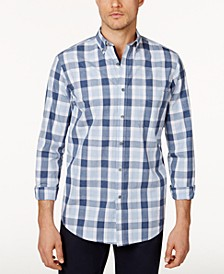 Men's Checked Shirt, Created for Macy's