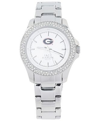 Jack Mason Women's Georgia Bulldogs Glitz Sport Bracelet Watch
