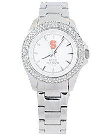 Jack Mason Women's Syracuse Orange Glitz Sport Bracelet Watch