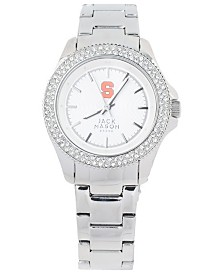 Jack Mason Women's Syracuse Orange Glitz Sport Bracelet Watch