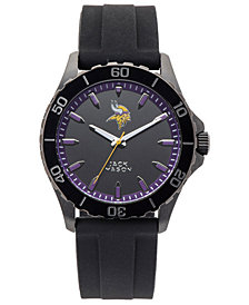 Jack Mason Men's Minnesota Vikings Sport Silicone Strap Watch